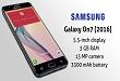 Samsung Galaxy On7 (2016) hits South Korean Market.