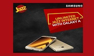 Jazz Introduces Internet Package which gives unlimited freedom to Samsung Galaxy users to surf.
