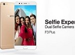 Oppo F3 Plus Hit the Strores With Dual Selfie Camera