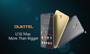 Oukitel launches U16 Max phablet.