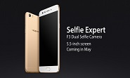 OPPO will Launch F3 Selfie Expert on May 4th,2017