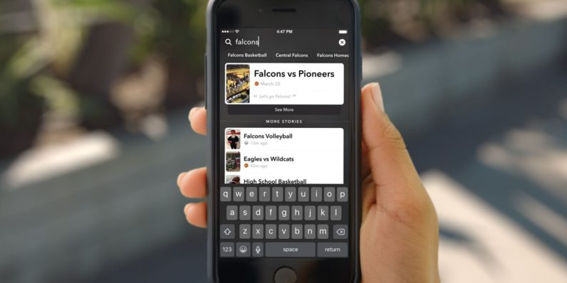 Snapchat launches Story Search