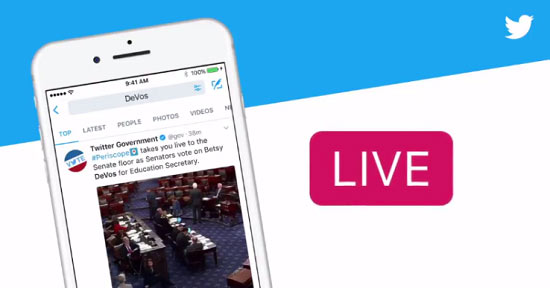 Twitter would be launching its live news channel soon