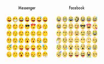 how to put emojis on facebook statuses