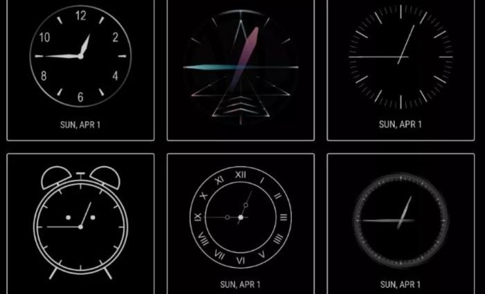 Samsung ClockFace App