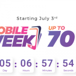 Daraz Mobile Week- Year's Biggest Mobile Sale Set to Start on July 3rd with Discounts up to 70% Off