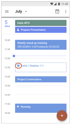 google calendar new feature